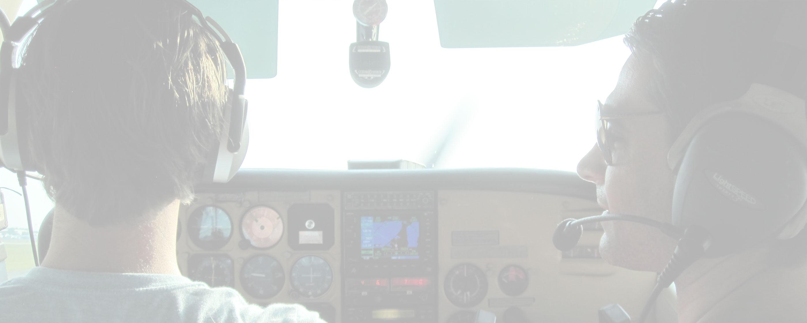 Flight Instructor Coaching New Pilot